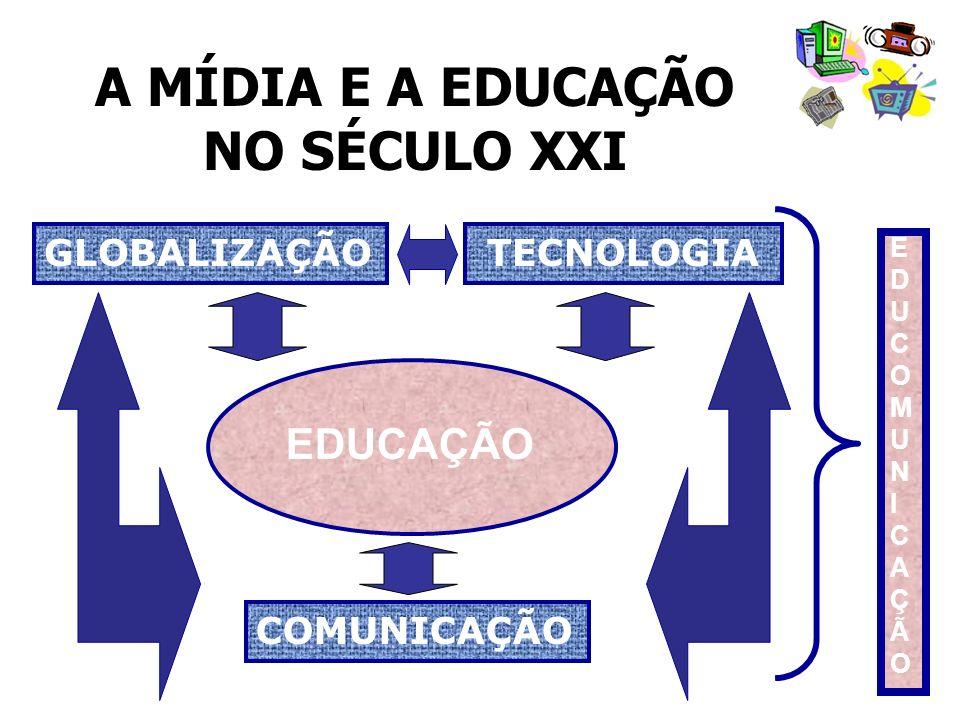 A MÍDIA E A EDUCAÇÃO NO SÉCULO XXI