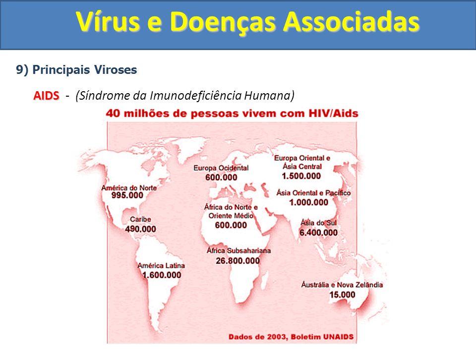 Vírus e Doenças Associadas