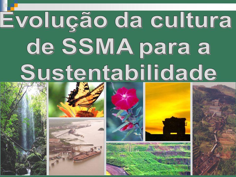 Evolução da cultura de SSMA para a Sustentabilidade