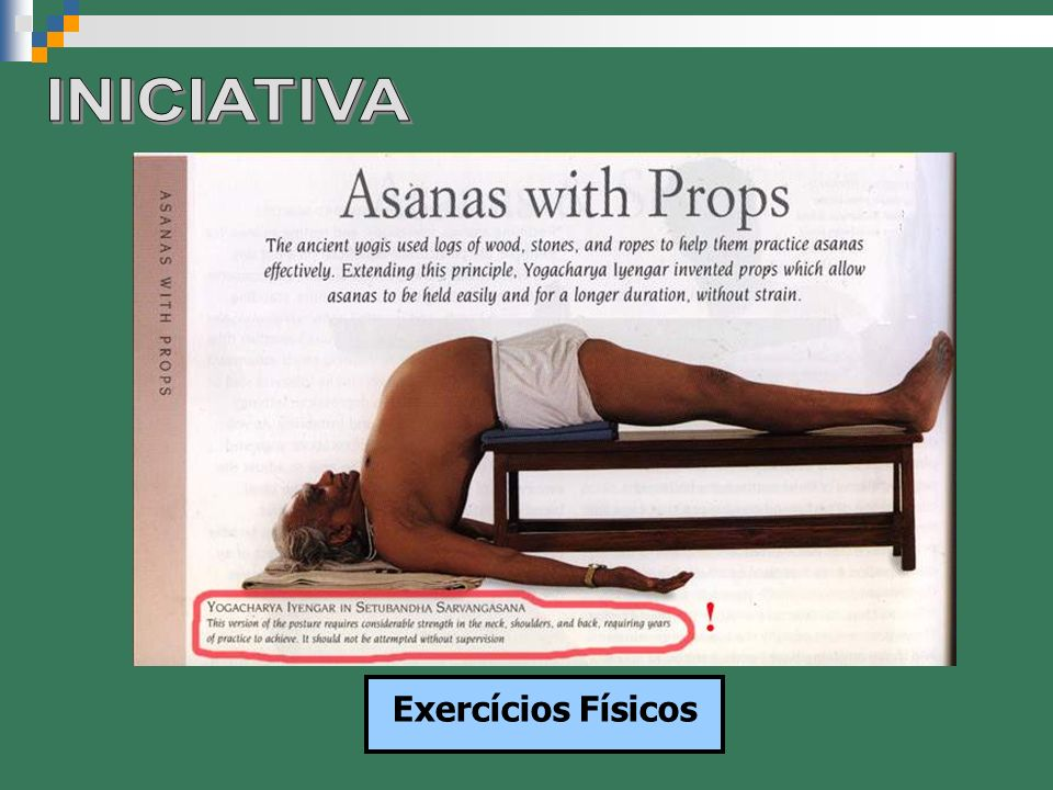 INICIATIVA Exercícios Físicos