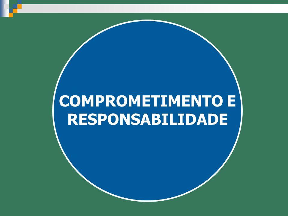 COMPROMETIMENTO E RESPONSABILIDADE