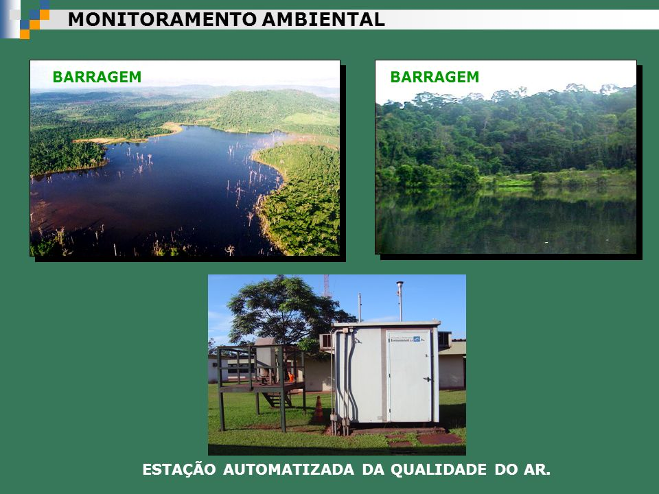 ESTAÇÃO AUTOMATIZADA DA QUALIDADE DO AR.