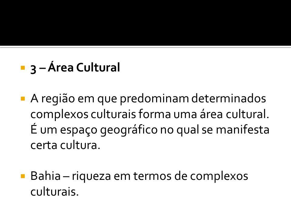 3 – Área Cultural