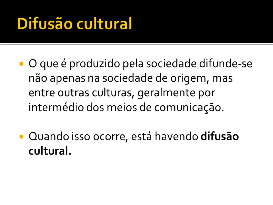 Difusão cultural