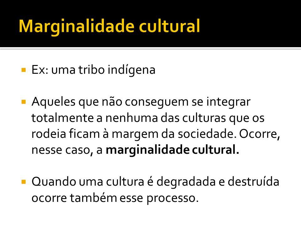 Marginalidade cultural