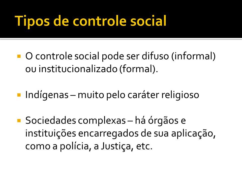 Tipos de controle social