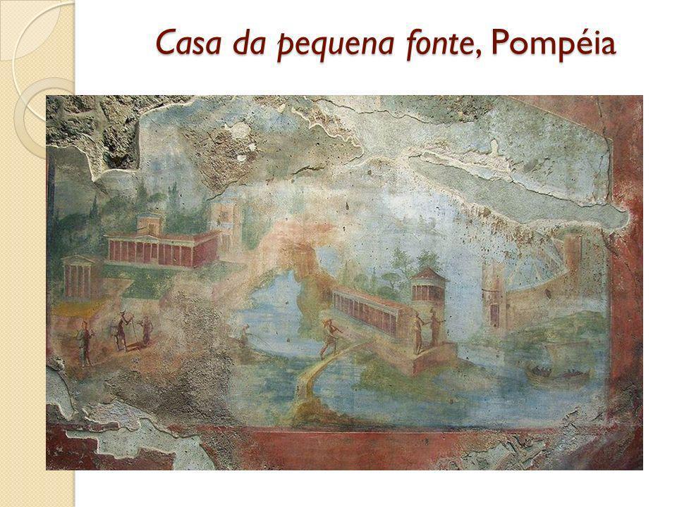 Casa da pequena fonte, Pompéia