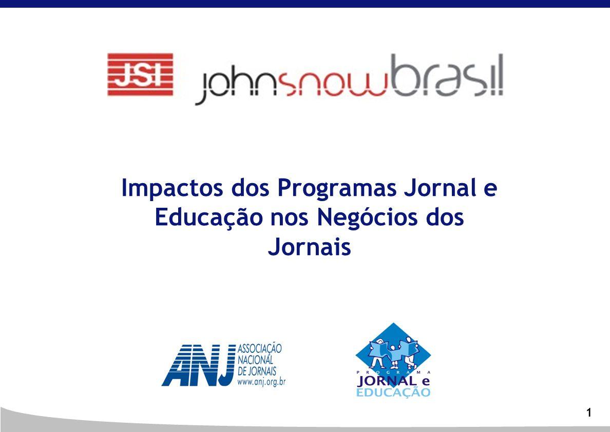 Impactos dos Programas Jornal e Educação nos Negócios dos Jornais