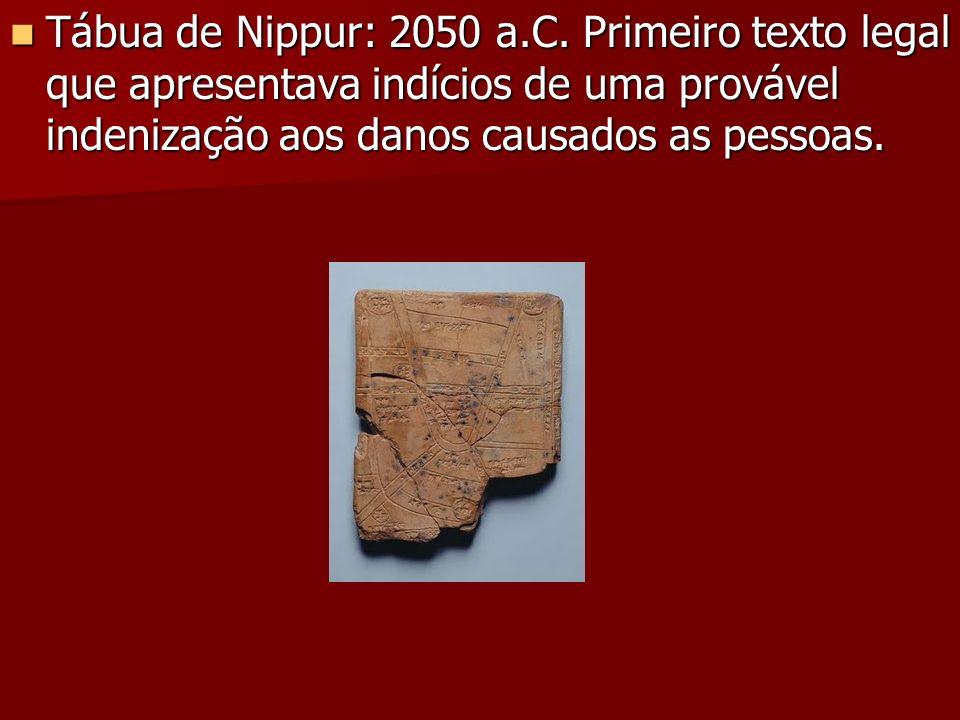 Tábua de Nippur: 2050 a.C.