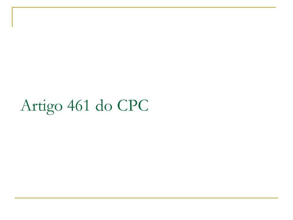 Artigo 461 do CPC