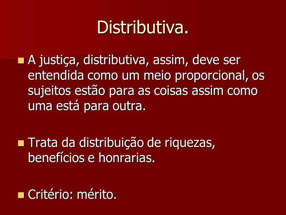 Distributiva.