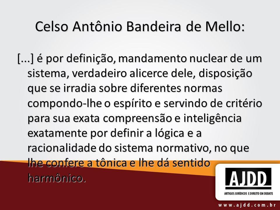 Celso Antônio Bandeira de Mello: