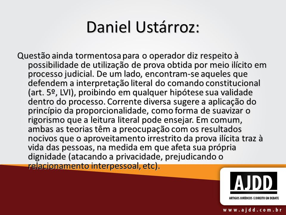 Daniel Ustárroz: