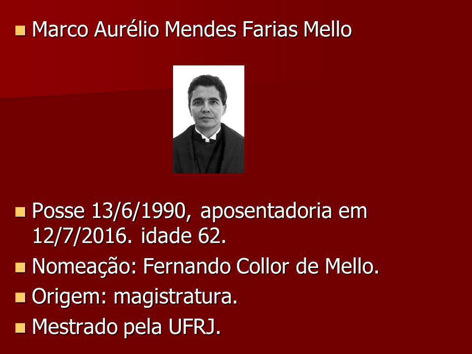 Marco Aurélio Mendes Farias Mello