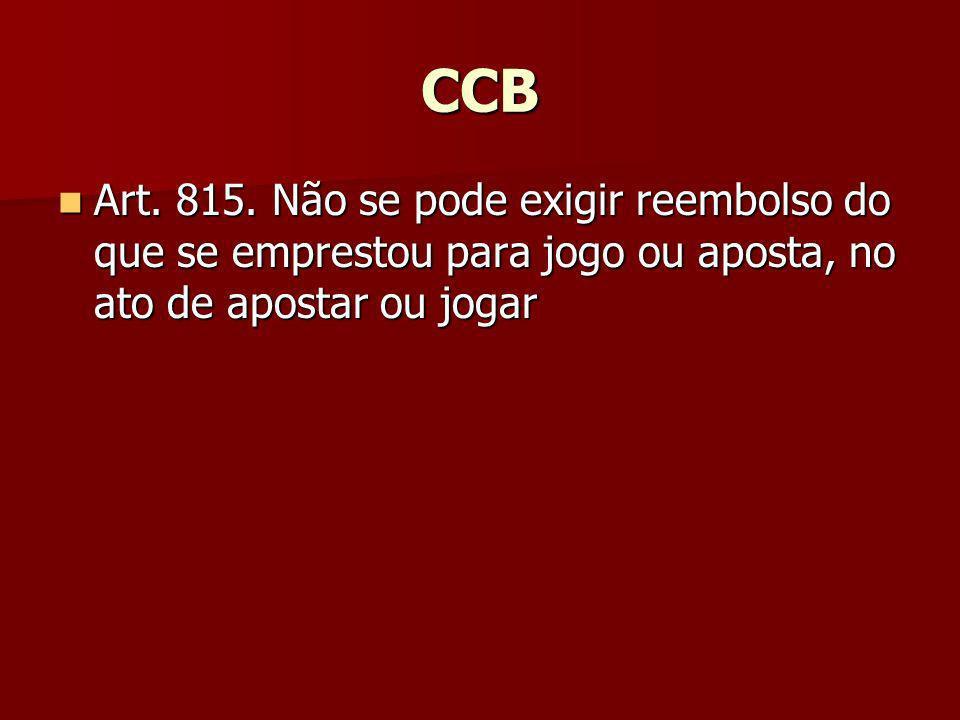 CCB Art. 815.