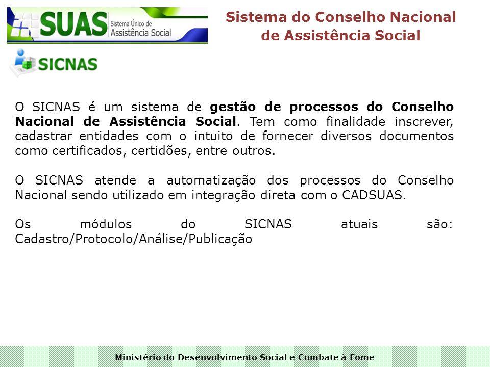 Sistema do Conselho Nacional de Assistência Social