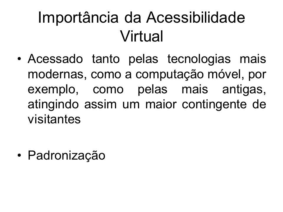 Importância da Acessibilidade Virtual