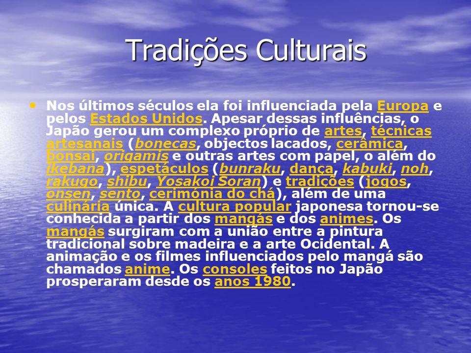 Tradições Culturais