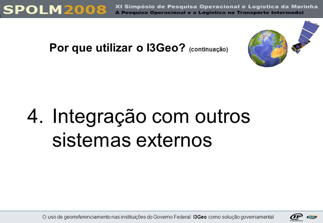 Integração com outros sistemas externos