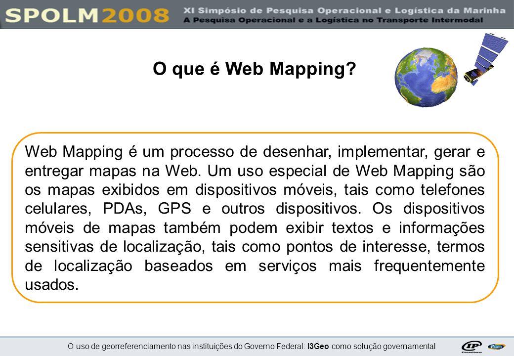 O que é Web Mapping