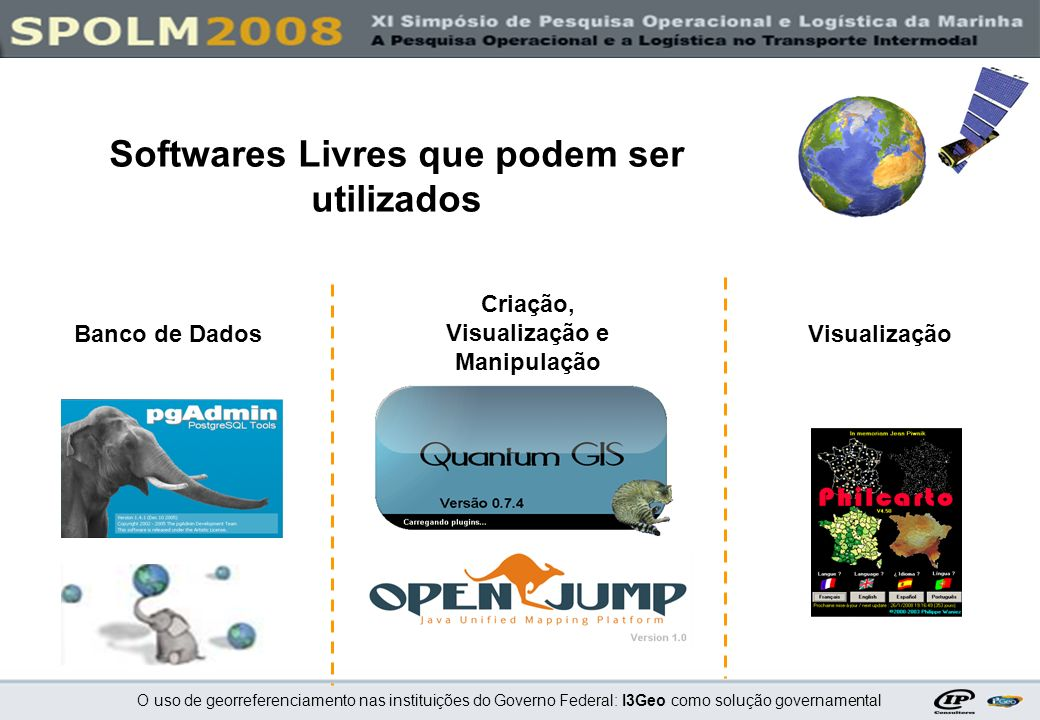 Softwares Livres que podem ser utilizados