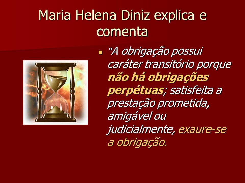 Maria Helena Diniz explica e comenta