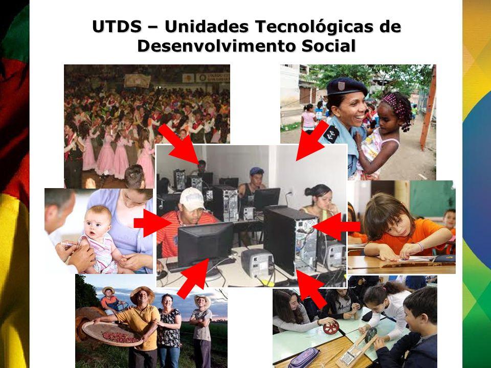UTDS – Unidades Tecnológicas de Desenvolvimento Social