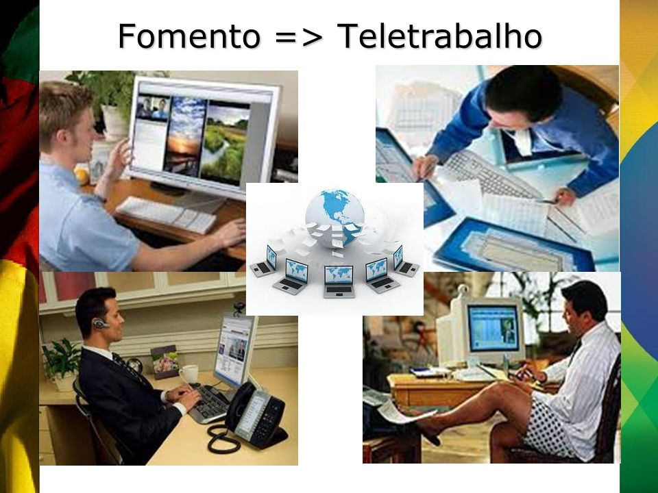 Fomento => Teletrabalho