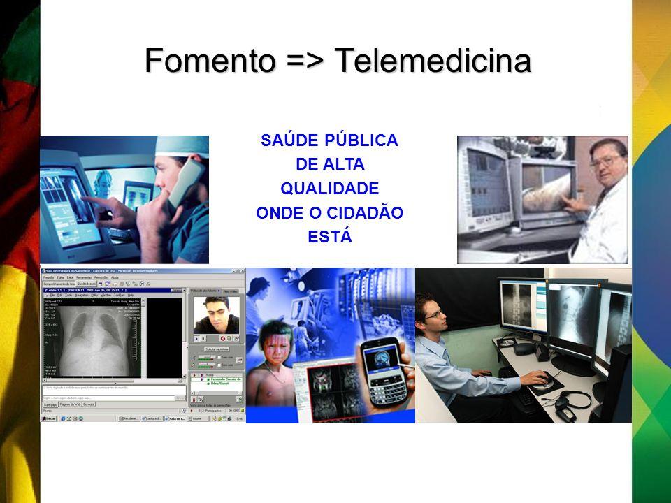 Fomento => Telemedicina