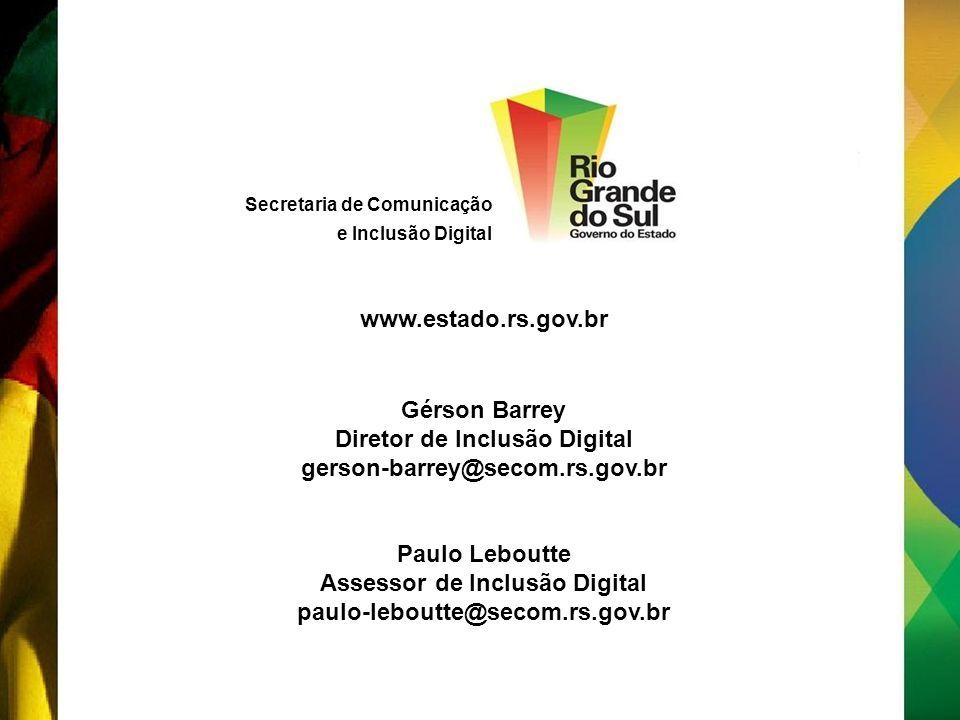 Diretor de Inclusão Digital Assessor de Inclusão Digital