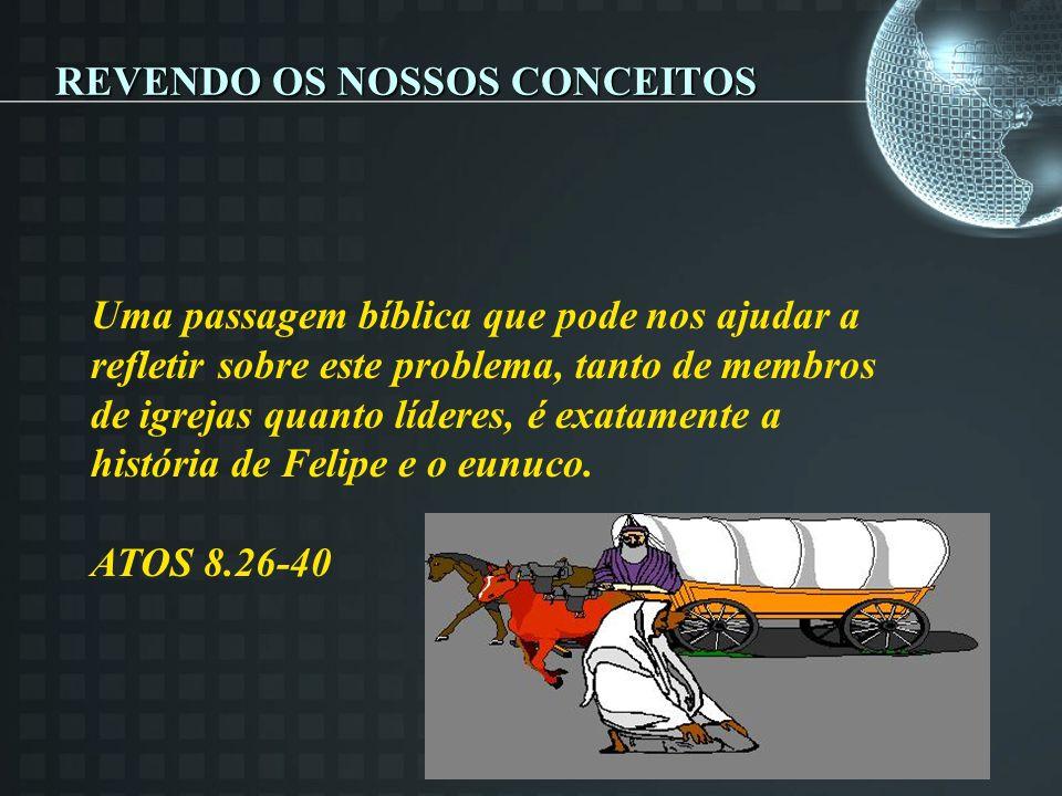 REVENDO OS NOSSOS CONCEITOS
