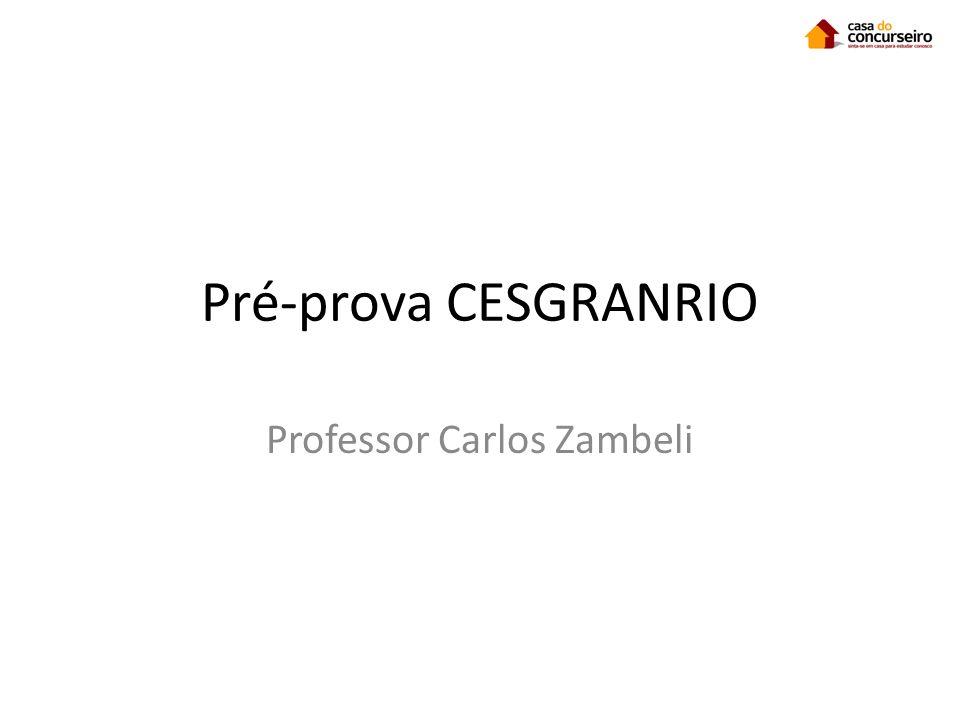 Professor Carlos Zambeli
