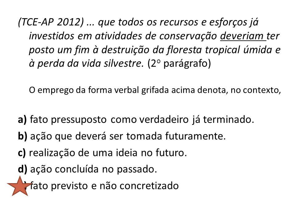 (TCE-AP 2012) ...