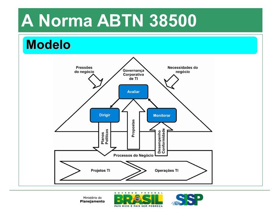 A Norma ABTN 38500 Modelo