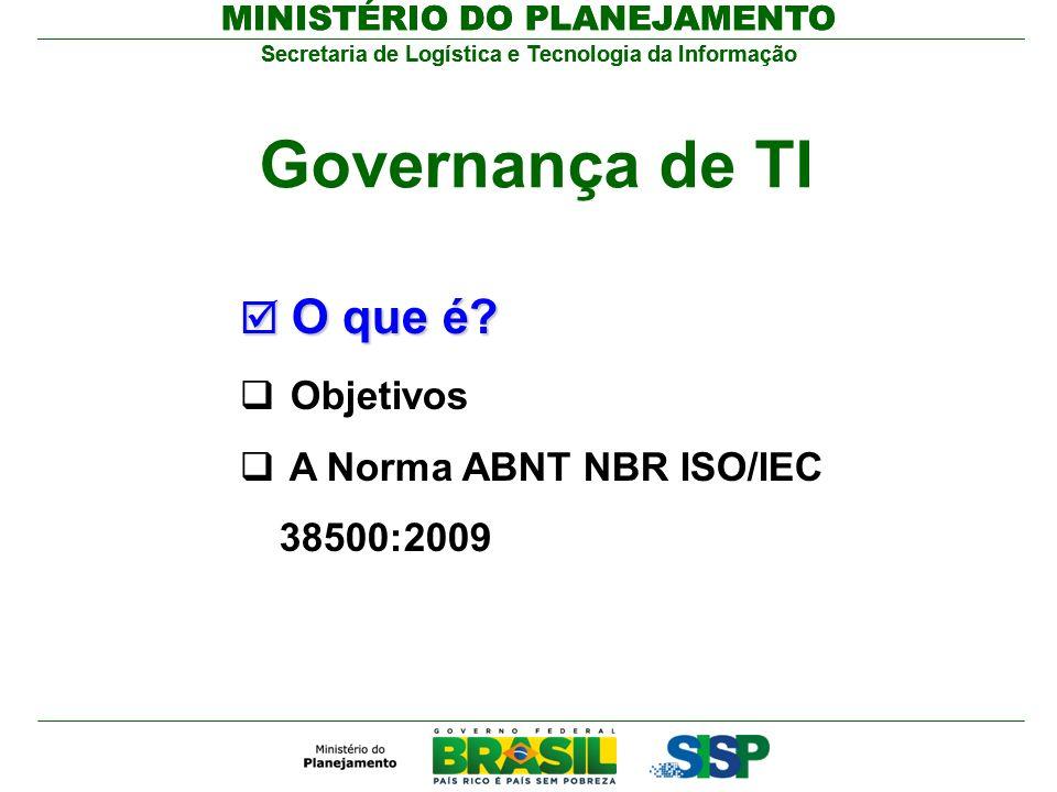 Governança de TI O que é Objetivos
