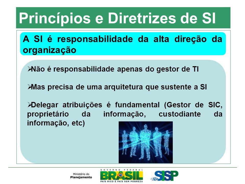 Princípios e Diretrizes de SI