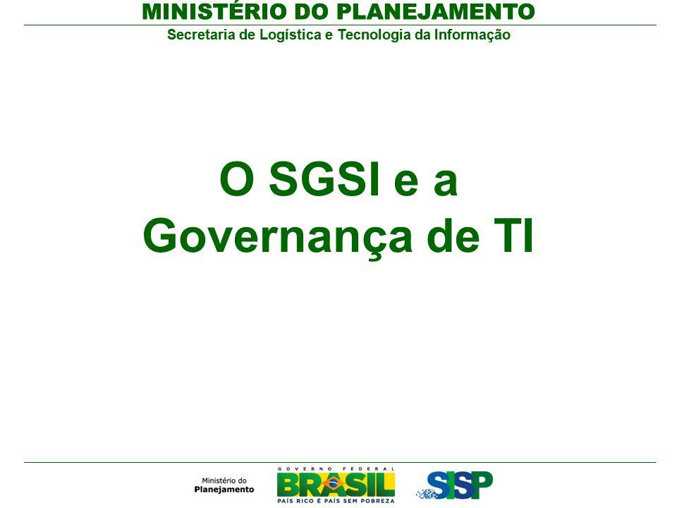 O SGSI e a Governança de TI