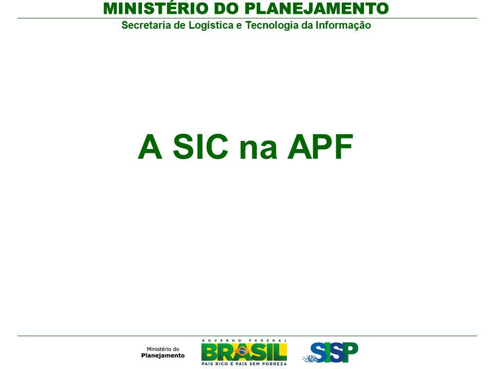 A SIC na APF