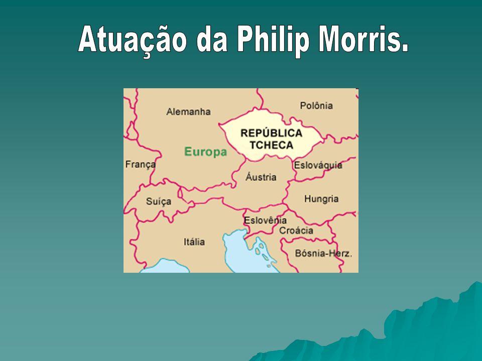 Atuação da Philip Morris.