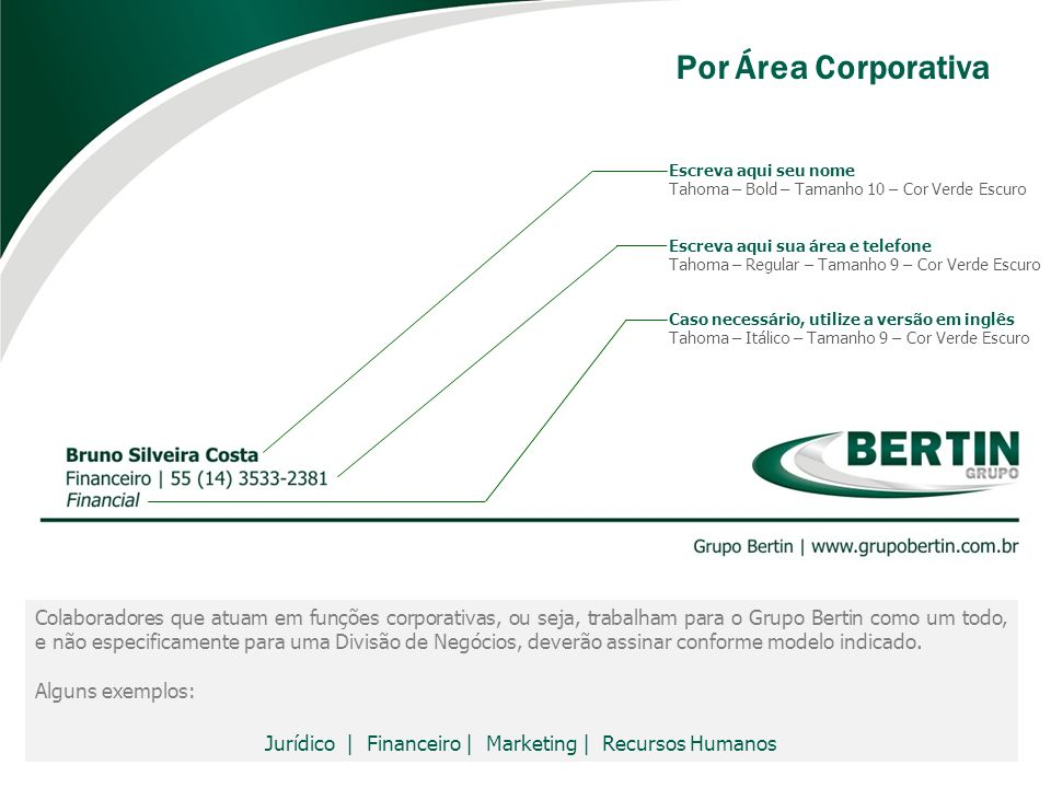 Jurídico | Financeiro | Marketing | Recursos Humanos