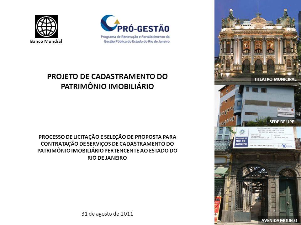 PROJETO DE CADASTRAMENTO DO PATRIMÔNIO IMOBILIÁRIO