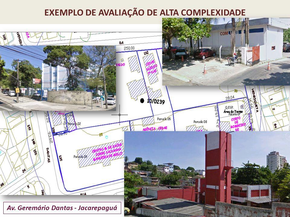 EXEMPLO DE AVALIAÇÃO DE ALTA COMPLEXIDADE