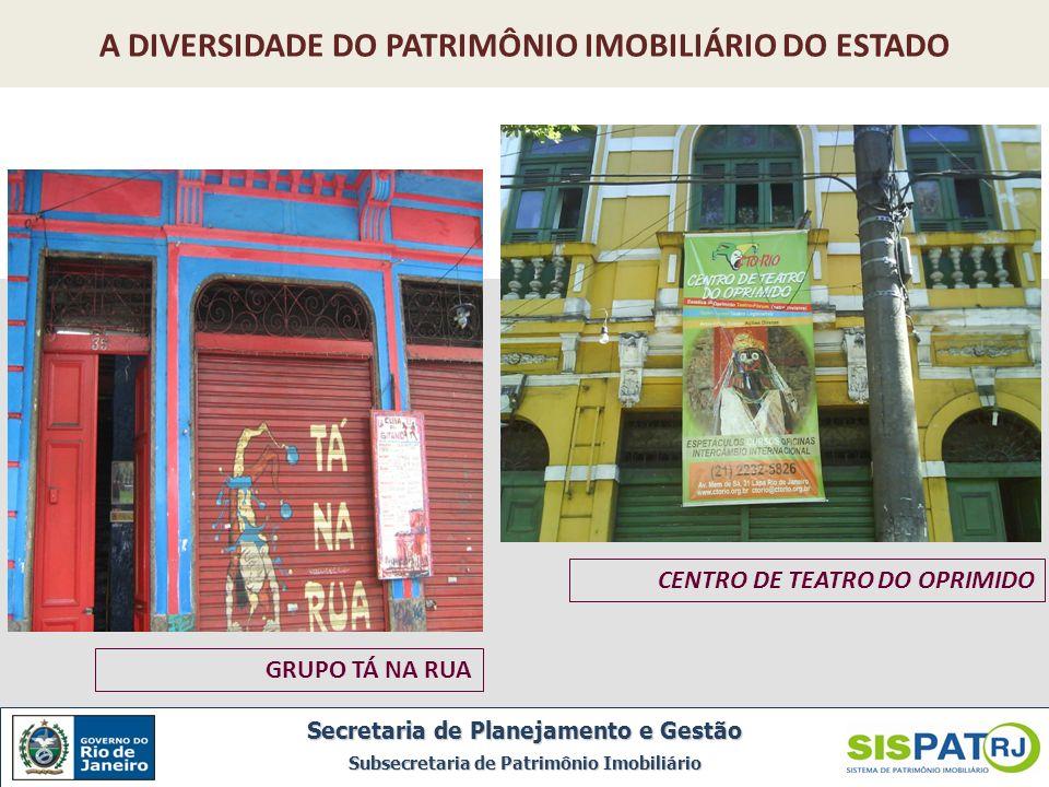 A DIVERSIDADE DO PATRIMÔNIO IMOBILIÁRIO DO ESTADO