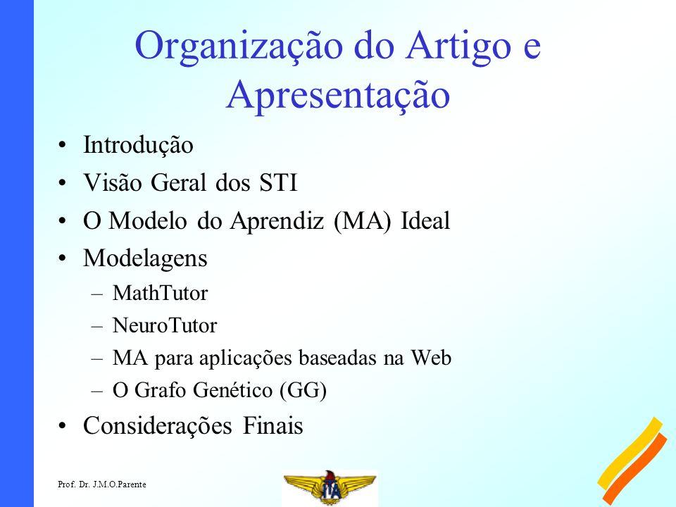 Organização do Artigo e Apresentação
