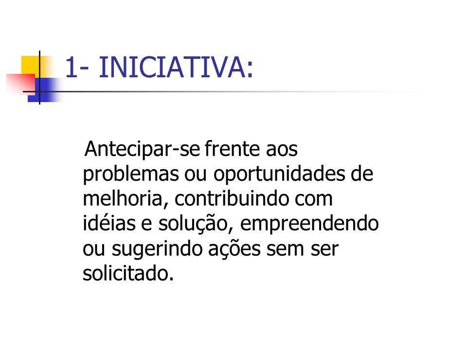 1- INICIATIVA: