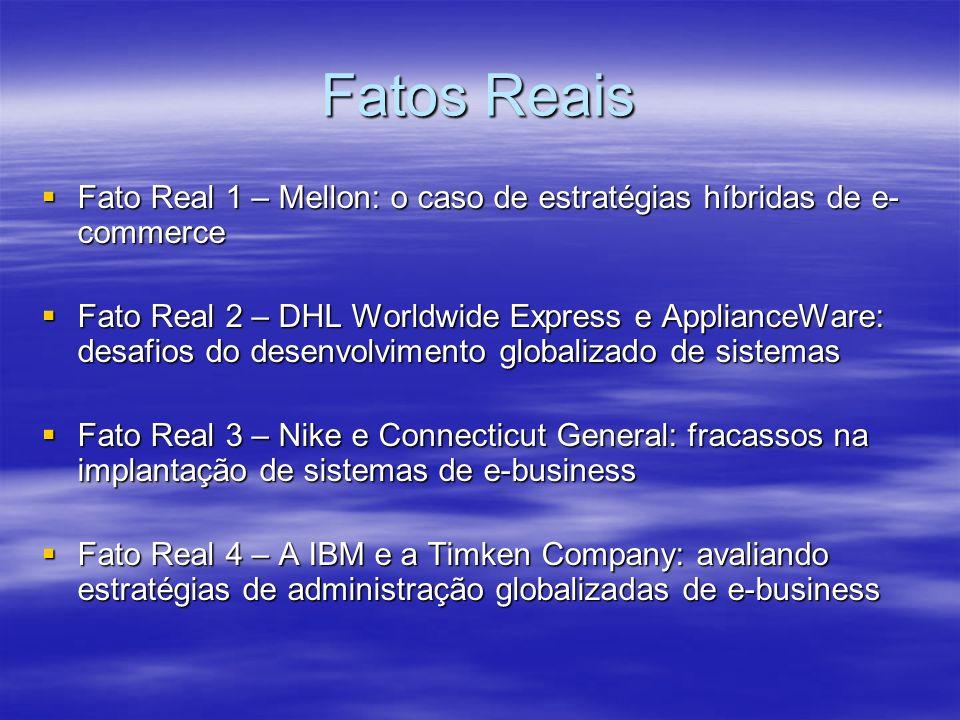 Fatos Reais Fato Real 1 – Mellon: o caso de estratégias híbridas de e-commerce.