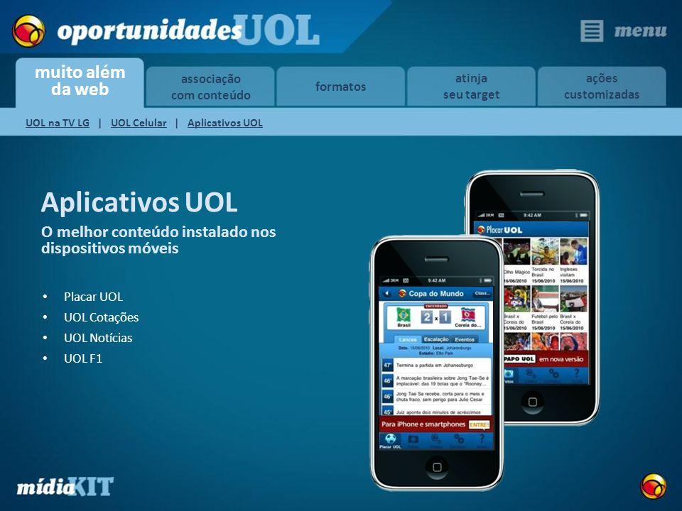 Aplicativos UOL O melhor conteúdo instalado nos dispositivos móveis