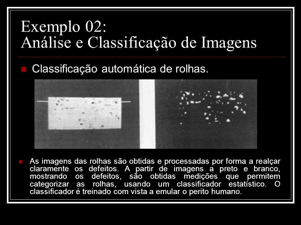 Exemplo 02: Análise e Classificação de Imagens