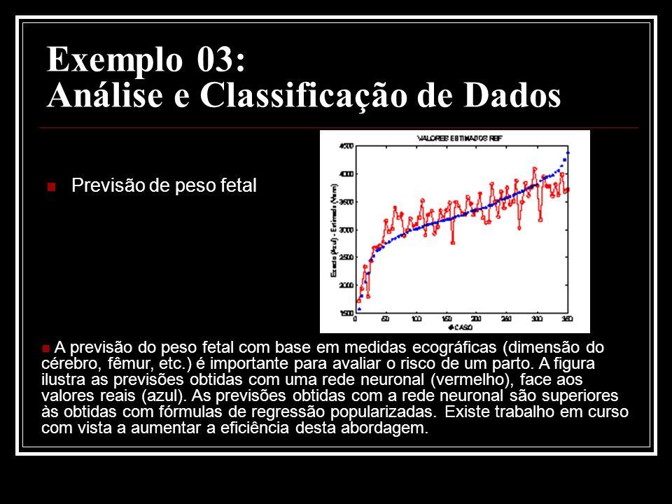 Exemplo 03: Análise e Classificação de Dados