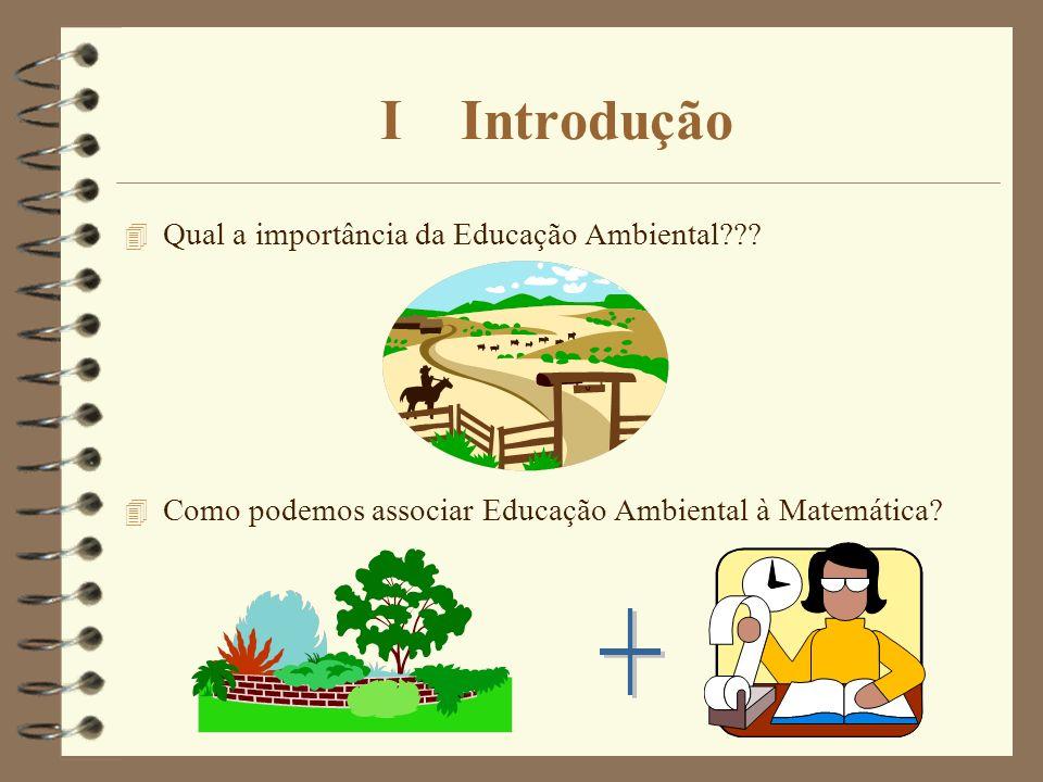 I Introdução + Qual a importância da Educação Ambiental